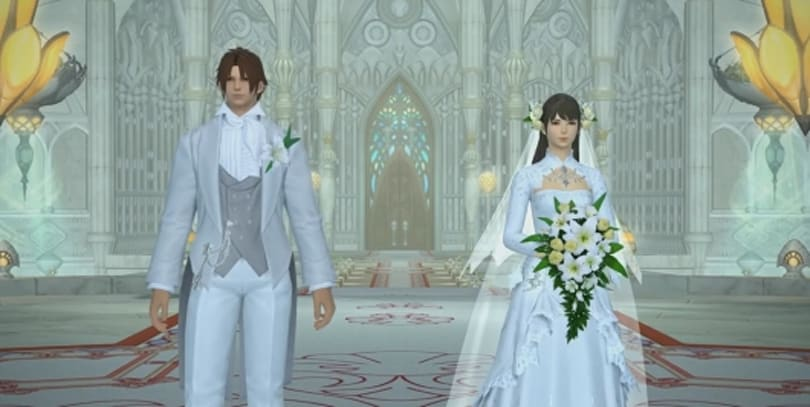 Final Fantasy XIV adds weddings with Patch 2.45