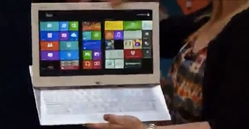 Mystery 13-inch Sony Ultrabook slider pops up in horribly grainy YouTube video