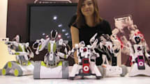Video: Erector's Spykee robots take on CES
