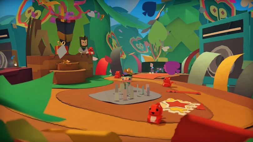 Playdate: Chatting with the developers of 'Tearaway Unfolded'