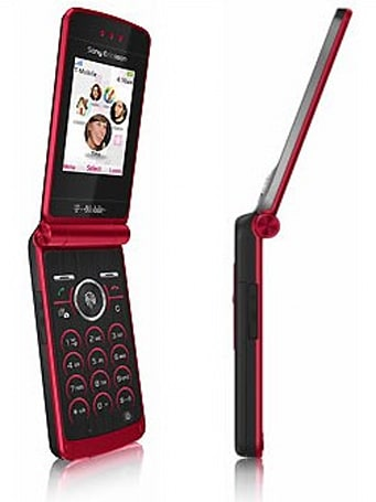 T-Mobile redoes the Sony Ericsson TM506 in Scarlet