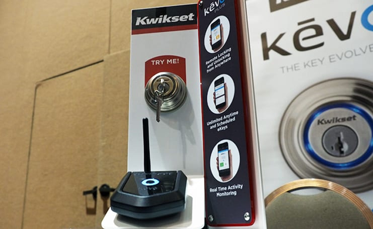Kwikset's Kevo lets you lock your home while on vacation in Tahiti