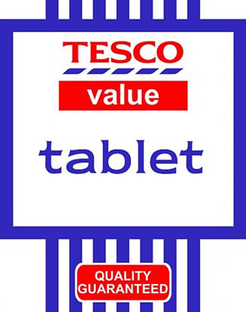 Tesco rumored to launch its own tablet, hopes you'll add one to the shopping list