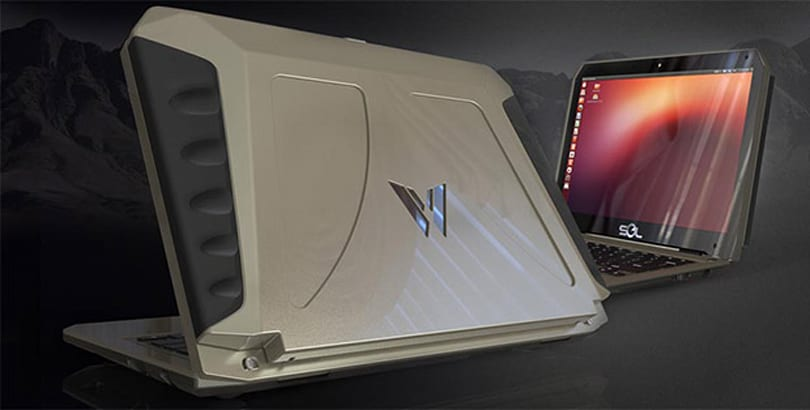 Solar-powered Ubuntu laptop boasts 10-hour battery, 2-hour charge time