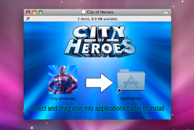 City of Heroes saves the day on the Mac