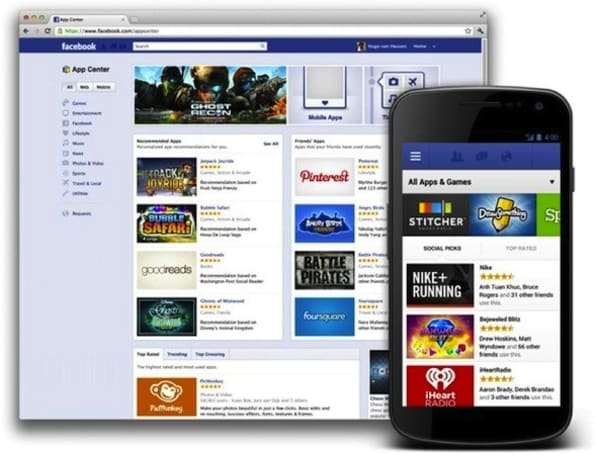 Facebook's App Center pokes its way into the UK, now available to you and your friends