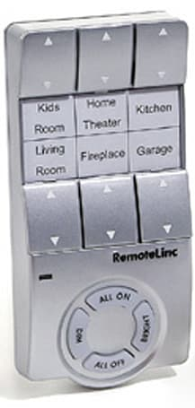 RemoteLinc wirelessly controls everything in your crib