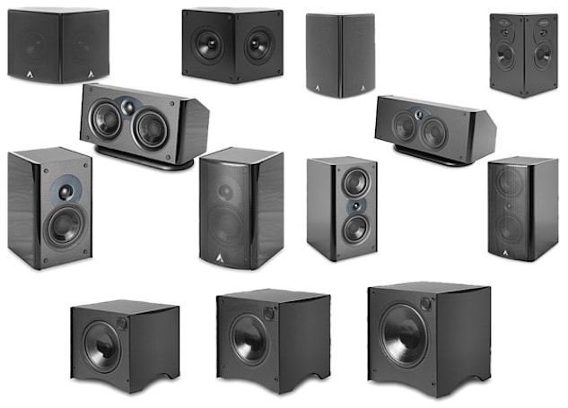 Atlantic Technology turns loose three new speaker systems, plus four subs