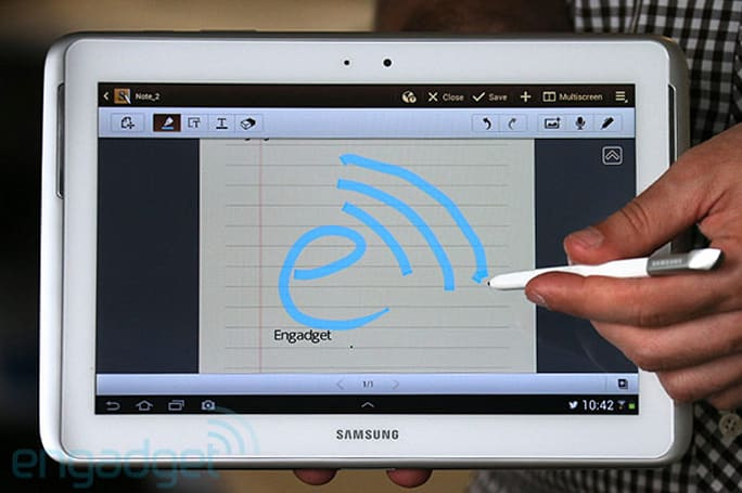 Samsung Galaxy Note 10.1 with LTE headed for Verizon
