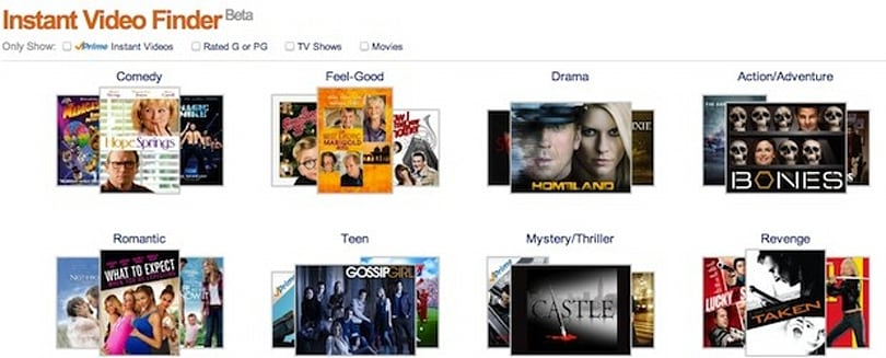Amazon beta tests 'Instant Video Finder' feature
