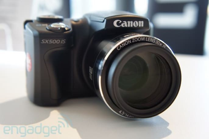 Canon PowerShot SX500 IS hands-on