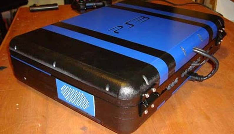 Ben Heck's PS3 Slim laptop is newer, bluer and way more convenient