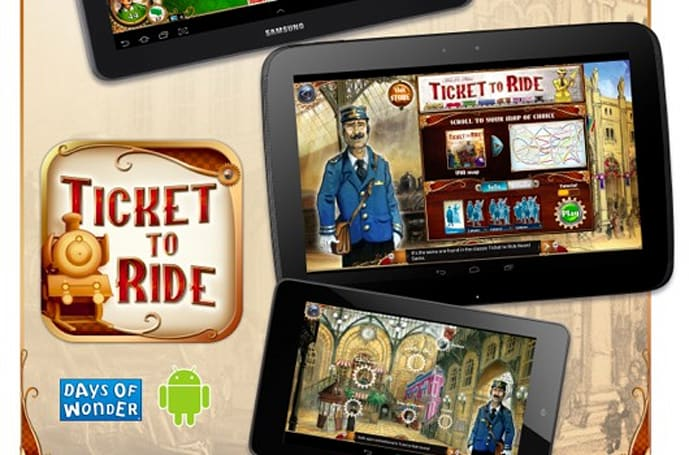 Ticket to Ride choo-choos onto Android