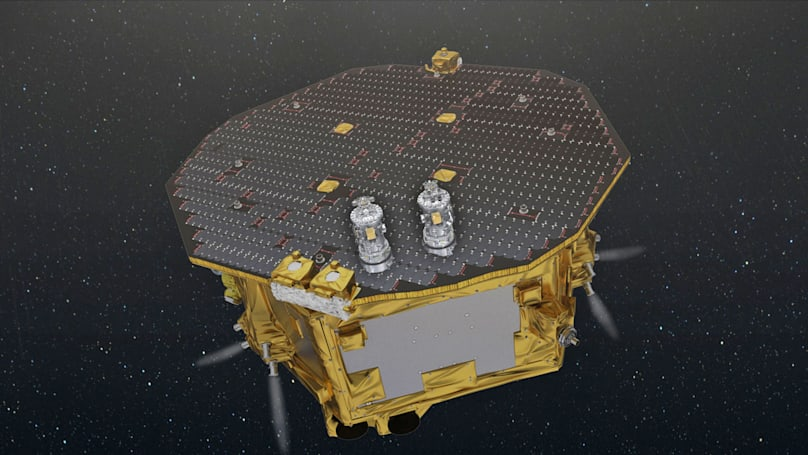 NASA plans to rejoin the ESA's gravitational waves project
