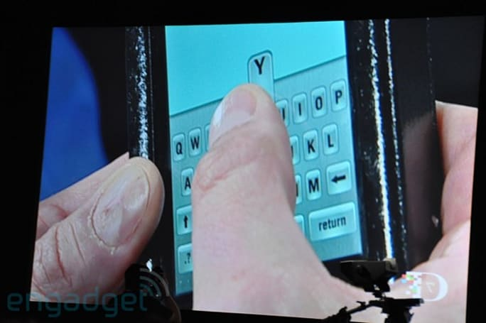 Immersion demos new TouchSense multitouch, haptic keyboard at D7