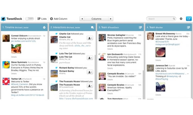TweetDeck gets a makeover, new update brings themes and improved fonts
