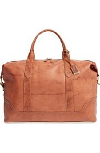 Frye 'Campus' Leather Overnight Bag