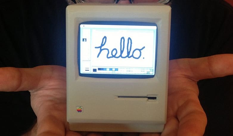 Mini classic Macintosh created with Raspberry Pi, runs System 6 (video)