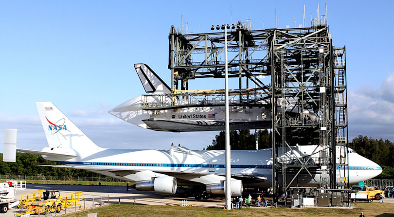 The Big Picture: NASA decommissions its shuttle mounting port