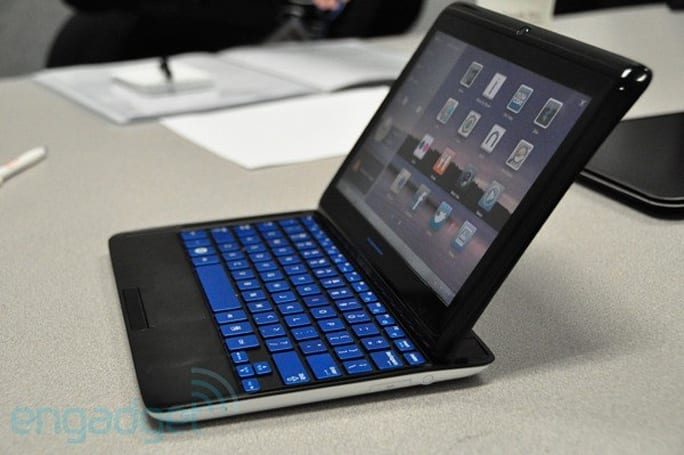 Samsung Sliding PC 7 Series hands-on preview (video)