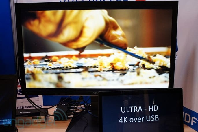 DisplayLink's adaptor streams 4K content over USB 2.0 and 3.0 (eyes-on)