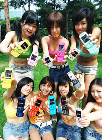 """LG's """"Colorholic"""" in 14 colors you can't have"""