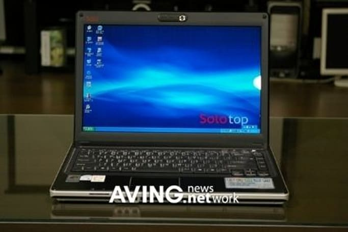 Daewoo Lucoms' Core Duo-powered Solo M410 notebook