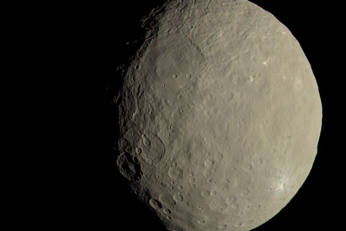 Dwarf planet Ceres' surface isn't what scientists expected