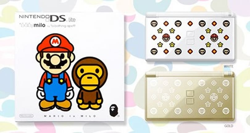 Bape puts its mark on limited edition DS Lites