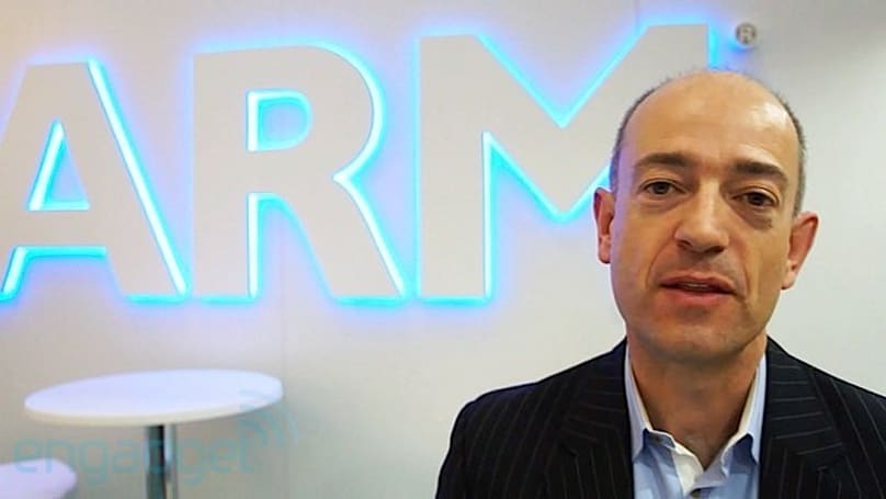 The Engadget Interview: ARM president Simon Segars at MWC 2013