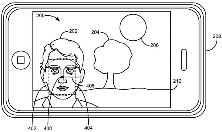 Apple patents iOS 5's exposure metering based on face detection, keeps friends in full view