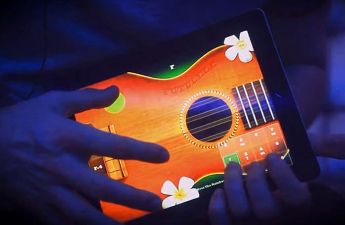 Futulele goes live for iPad, ukelele serenades just went multi-touch (video)
