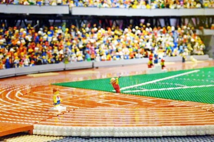 Inhabitat's Week in Green: 30-foot 'Buckyball', Olympic stadium Lego replica and the 'Mantabot'