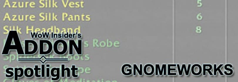 Addon Spotlight: Work harder with GnomeWorks