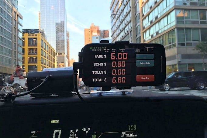 Flywheel's phone-based taxi meter arrives in NYC