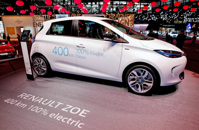 Renault-Nissan developing a fleet of self-driving EVs