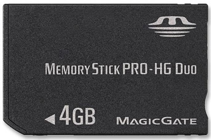 Memory Stick PRO-HG announced: 3x faster than Pro DUO, compatible