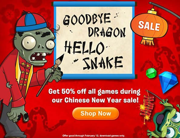 All PopCap games half-off this weekend