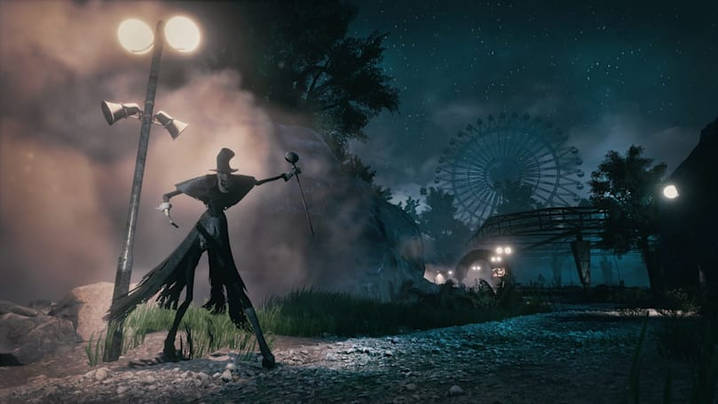'The Park' isn't your typical haunted-carnival horror game