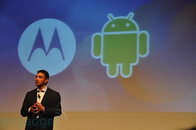 Live from Motorola's Android announcement at Mobilize 09