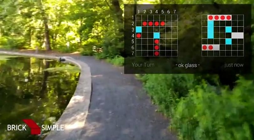 Play a Battleship-style game on Google Glass while shopping, strolling