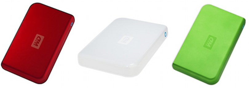 Western Digital adds three new colors to Passport lineup