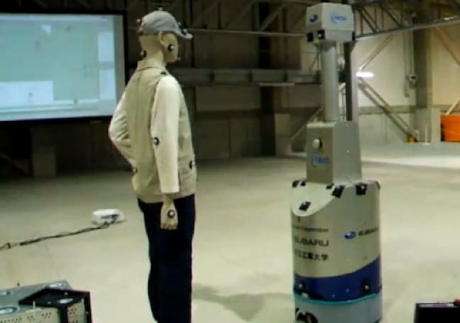 Robot Safety Center opens up in Japan, Crash Test Dummies still an unfortunate name for a band (video)