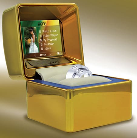 Euri's multimedia ring box -- for nerds who want wives