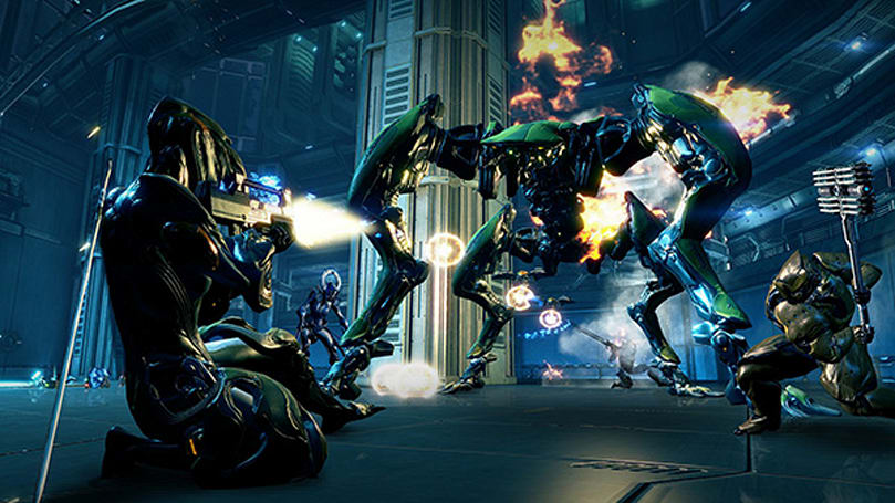 Warframe brings the free-to-play pain to Xbox One later this year