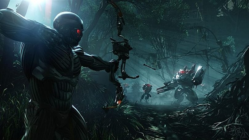 Crysis 3's main man is a crack shot with a bow, apparently