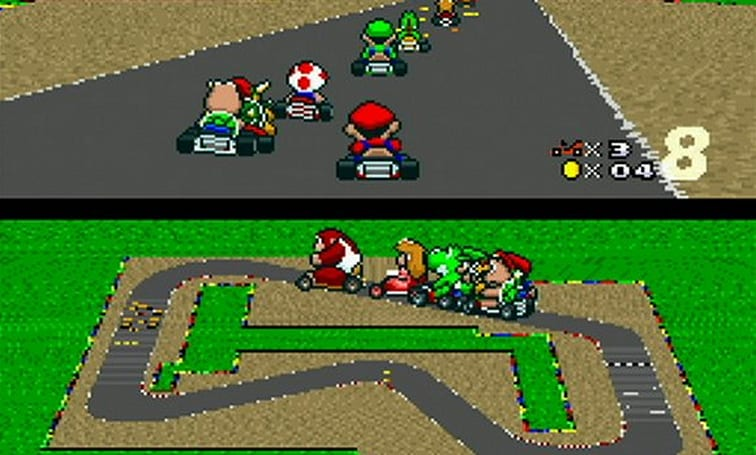 European Nintendo downloads: Super Mario Kart, Chronos Twins DX