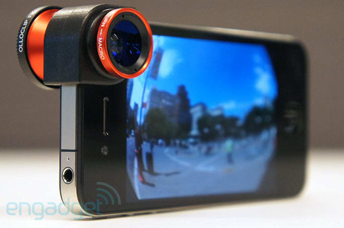 Olloclip three-in-one lens for iPhone 4 review