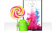 LG's phones are the first to get an Android Lollipop upgrade (updated)