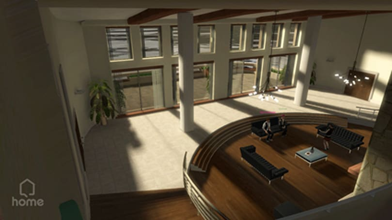 SGD '07: Home - living area screenshots